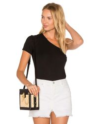 Michael Stars - Black One Shoulder Tee - Lyst