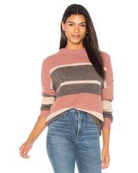 360cashmere - Multicolor 360 Sweater Abigail Stripe Sweater - Lyst