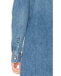 3x1 - Multicolor Fringe Shirt Dress - Lyst