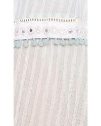 Tularosa - Blue Cecily Midi Dress - Lyst