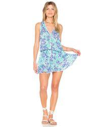 Poupette - Blue Jolie Mini Dress - Lyst