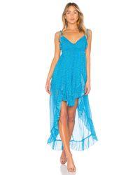 Karina Grimaldi - Blue Saralyn Maxi Dress - Lyst