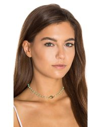Natalie B. Jewelry - Metallic X Revolve African Opal Chain & Labradorite Buried Treasure Necklace - Lyst