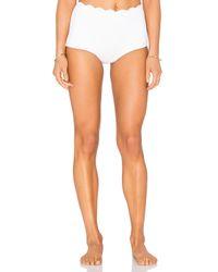 Marysia Swim - White Palm Springs Bikini Bottom - Lyst