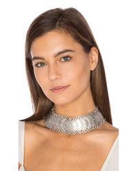 Natalie B. Jewelry - Metallic Cyprus Choker Necklace - Lyst