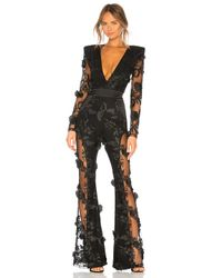 Zhivago - Black Where You Tend A Rose Jumpsuit - Lyst