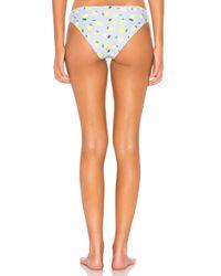 Onia - Orange Lily Lemon Toss Bikini Bottom - Lyst
