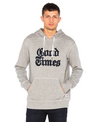 Altru | Gray X New York Times Good Times Hoodie for Men | Lyst