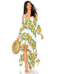 Free People | Yellow Monarch Maxi Dress | Lyst