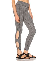 Free People | Gray Infinity Legging | Lyst