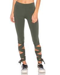 Free People | Green Motion Legging | Lyst