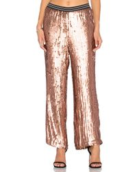 Free People   Multicolor So Sexy Sequin Just A Dream Pant   Lyst