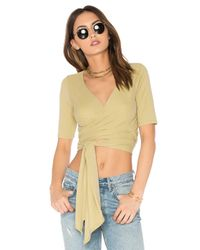 Free People | Multicolor Sacred Wrap Top | Lyst