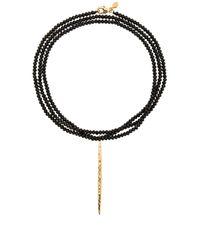 Gorjana | Metallic Nora Beaded Long Necklace | Lyst