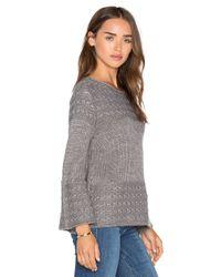 Lamade - Gray Olivia Jersey Pullover - Lyst