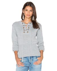 Lioness | Gray Sicily In Dusk Sweater | Lyst