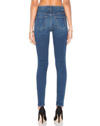 Mother - Blue High Waisted Looker - Lyst