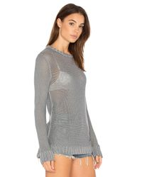 Nation Ltd - Gray Lucy Sweater - Lyst
