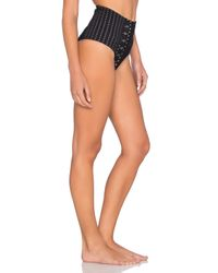 Nightcap - Black Bardot High Waist Bottom - Lyst