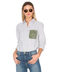 NSF   Black Axel Button Up   Lyst