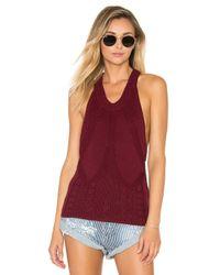 One Teaspoon | Black Frontier Sleeveless Sweater | Lyst