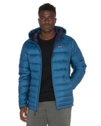 Patagonia | Blue Hi-loft Down Sweater Hoody for Men | Lyst