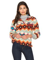 Patagonia | Multicolor Lightweight Synchilla Snap-t Pullover | Lyst