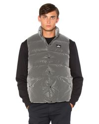 Penfield | Black Outback Reflective Down Vest for Men | Lyst