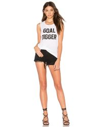 Private Party | White Goal Digger Tank | Lyst