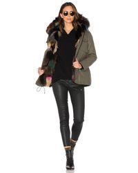 Sam. | Black Multi Kate 4-in-1 Jacket With Fox Fur | Lyst