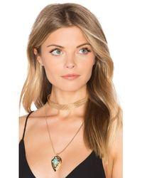 Samantha Wills | Metallic Nightfall Lustre Pendant Necklace | Lyst