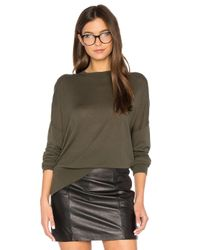 Theory | Green Karenia R Sweater | Lyst