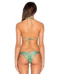 ViX - Green Ripple Bikin Bottom - Lyst