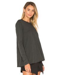 Wilt - Multicolor Extreme Shift Long Sleeve Trapeze Crew Tee - Lyst