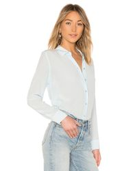 Equipment - White Essential Top - Lyst