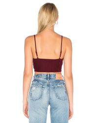 House of Harlow 1960 - Blue X Revolve Booker Crop - Lyst