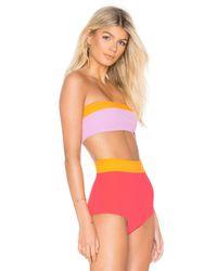 Flagpole Swim Pink Lori Bikini Top