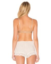 Free People | Natural Wishing Well Underwire Bra | Lyst