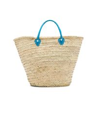MISA - Multicolor Marrakech 'hola' Bag In Beige. - Lyst