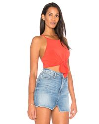 Motel - Red Knot Your Crop - Lyst