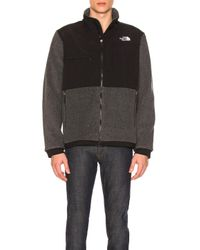 The North Face - Gray Denali 2 Jacket for Men - Lyst