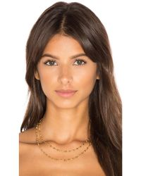 Gorjana - Metallic Layer Bali Wrap Necklace - Lyst
