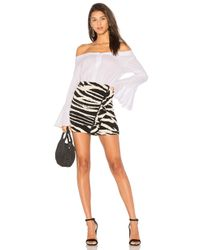 Free People - White March To The Beat Top - Lyst