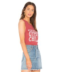 Spiritual Gangster - Red Gypsy Child Muscle Tank - Lyst