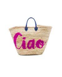MISA - Blue Marrakech 'ciao' Bag - Lyst