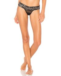 Hanky Panky - Multicolor Silver Bloom Thong - Lyst