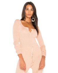 LPA - Pink X Revolve Bodysuit 257 - Lyst