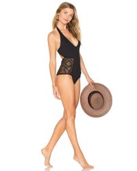 L*Space - Black Fireside Cheeky One Piece L* - Lyst