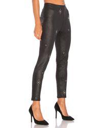 Free People - Black Embellished Vegan Skinny Pant - Lyst