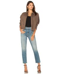 James Perse - Multicolor Batwing Bomber Jacket - Lyst